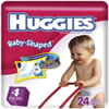 HUGGIES ULTRATRIM<BR> BABY DIAPERS<BR>(22-37)LBS. 108/CASE , KIM 11959