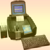 CHEMISTRY ANALYZER  <BR> WITH INCUBATOR &  KEY BOARD