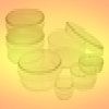 SIMPORT PETRI DISHES <BR> SIZE 25 MM X 100 MM , 500/CASE