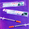 TB SYRINGES <BR> WITH NEEDLES
