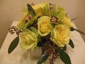 Chartreuse Bouquets