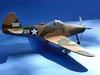 P-39 Airacobra #FF27 Easy Built Models Balsa Wood Model Airplane Kit Rubber Powered