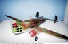 Lockheed Hudson Bomber , Easy Built Models #D02 Balsa Wood Model Airplane Kit