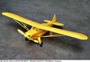 Piper Super Cruiser, Easy Built Models #LC03 Balsa Wood Model Airplane Kit
