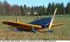 Fairchild PT-19, Easy Built Models #FF06 Balsa Wood Model Airplane Kit Rubber Powered