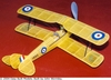 de Havilland Tiger Moth, Easy Built Models #FF61 Balsa Wood Model Airplane Kit