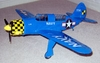 Helldiver #FF72 Easy Built Models Balsa Wood Model Airplane Kit Rubber Powered