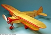 WACO N #PD05 Easy Built Models Balsa (Laser Cut) Wood Model Airplane Kit Rubber Powered