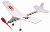 Cloud Buster #4301 Guillows Balsa Wood Model Airplane Kit Rubber Powered