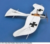 Etrich Taube # D12 Easy Built Models Balsa Wood Model Airplane Kit