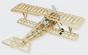 "Nieuport II Biplane 24"" Guillows  #203LC Wood Model Airplane Kit"