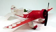 Gee Bee Model E #302 Dumas 30� Wingspan Balsa Wood Model Airplane Kit