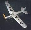 Leopard Moth #FF24 Easy Built Models Balsa Wood Model Airplane Kit Rubber Powered