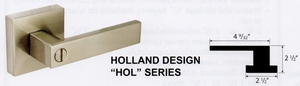 CAL ROYAL HOLLAND PRIVACY LEVER HOL20 ( click here to view and buy item)