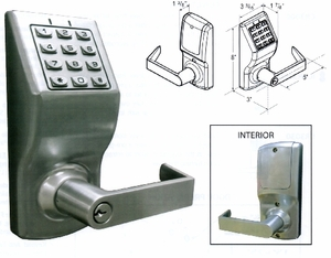CAL ROYAL CR3000 DIGITAL LOCKSET (click here to view and buy item)