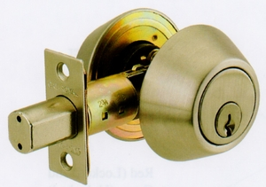 CAL ROYAL LSD01 SINGLE KEY DEADBOLT ( click here to view and buy item)