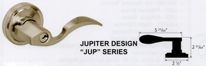 CAL ROYAL JUP-30 JUPITER PASSAGE LEVER NO KEY ( click here to view and buy item)