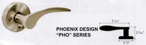CAL ROYAL PHO-30 PHOENIX LEVER PASSAGE NO KEY ( click here to view and buy item)