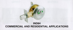 CAL ROYAL IND84 INDICATOR DEADBOLT ( click here to view and buy item)