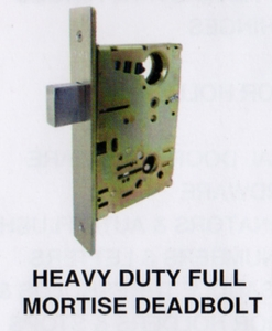 CAL ROYAL M8460 FULL MORTISE DEADBOLT ( click here to view and buy item )