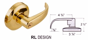 CAL ROYAL PIONEER RL00 KEYED ENTRY LOCKSET ( click here to view and buy item )