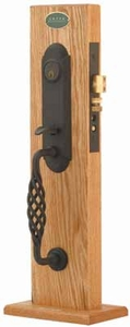 EMTEK 3311 LAFAYETTE MONOLITHIC MORTISE ENTRY HANDLESET (click here to view and buy item)