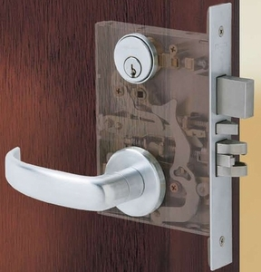 SCHLAGE L9480 03A 26D HEAVY DUTY MORTISE STOREROOM 26D BRUSHED CHROME