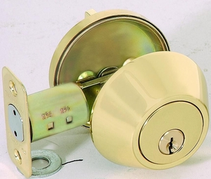 CAL ROYAL ED-500 SINGLE KEY DEADBOLT (click here to view and buy item)