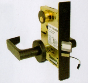 CAL ROYAL NM8080FSE ELECTRICALLY UNLOCKED KEYED MORTISE LOCKSET  (click here to view and buy item)