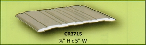"CAL ROYAL CR3715 36"" X 5"" X 1/4"" THRESHOLD CLEAR ALUMINUM (click here to view and buy item)"