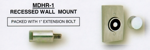 CAL ROYAL MDHR-1 MAGNETIC RECESSED DOOR HOLDER ALUM (click here to view and buy item)