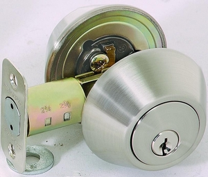 CAL ROYAL EDD-400 DOUBLE KEY DEADBOLT ( click here to view and buy item )