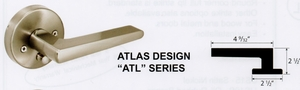 CAL ROYAL ATL-30 ATLAS NO KEY PASSAGE LATCHSET (click here to view and buy item)