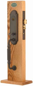 EMTEK 3304 HAMILTON MORTISE ENTRY HANDLESET (click here to view and buy item)