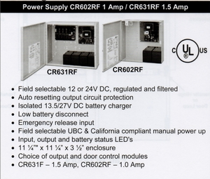 CAL ROYAL CR631RF POWER SUPPLY 1.5 AMP ( click here to view and buy item)