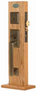 EMTEK 3310 MILLS MORTISE ENTRY HANDLESET (click here to view and buy item)