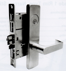 Cal Royal Mresc7700 Lever Trim For Mr7700 Mortise Exit Device