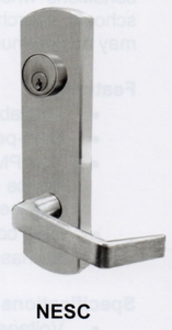 CAL ROYAL NESC9800 LEVER TRIM FOR 9800 SERIES EXIT DEVICE ( click here to view and buy item)