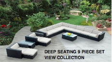 Deep Seating 9 Piece Set