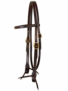 TUCKER BROWBAND BRIDLE ( BN, BK, GN, NT) 176