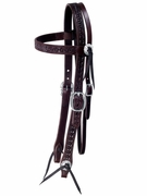 TUCKER OLD WEST TRAIL BRIDLE (BN, BK, GN) 177