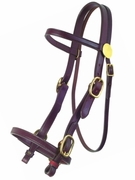 TUCKER PLANTATION BRIDLE LARGE HORSE (BN, BK, GN) 320