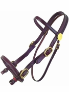 TUCKER PLANTATION HEADSTALL (BN, BK, GN) 113