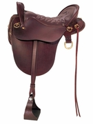 TUCKER RIVER PLANTATION TRAIL SADDLE-SMOOTH (BN, BK, GN) 146