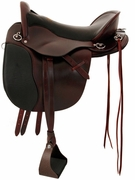 TUCKER GEN II EQUITATION ENDURANCE SADDLE-SMOOTH ONLY (BN, BK, GN) 147