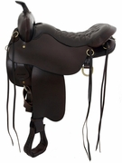 CHEYENNE SPRINGS TUCKER SADDLE-SMOOTH (BN, BK, GN) 166