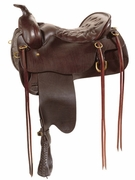 CHEYENNE FRONTIER TUCKER TRAIL SADDLE-SMOOTH (BN, BK, GN) 167