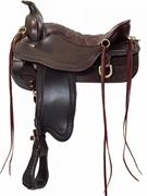 TUCKER CHEYENNE FRONTIER TRAIL SADDLE-BORDER TOOLED (BN, BK, GN) 167