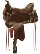 TUCKER MULE TRAIL SADDLE-TOOLED (BN, BK, GN) 259