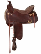 TUCKER HIGH PLAINS TRAIL SADDLE-SMOOTH (BN, BK, GN) 260